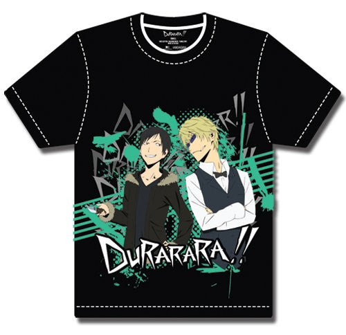 Durarara!! Izaya And Shizuo Glance T-Shirt XL