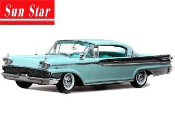Sun Star Platinum - Mercury Park Lane Hard Top (1959, 1/18 scale diecast model car, Twilight Turquoise)