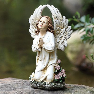 "16"" KNEELING ANGEL GARDEN STAT JOSEPH STUDIO"