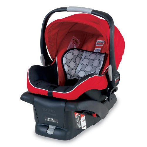 Britax B-SAFE INFANT CHILD SEAT, Red