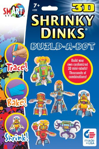 3-D Shrinky Dinks Build-a-Bot