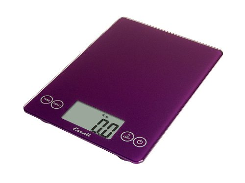 Arti Glass Digital Scale, 15 Lb / 7 Kg - Deep Purple
