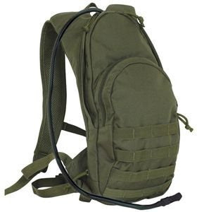 Compact Modular Hydration Backpack, Olive drab