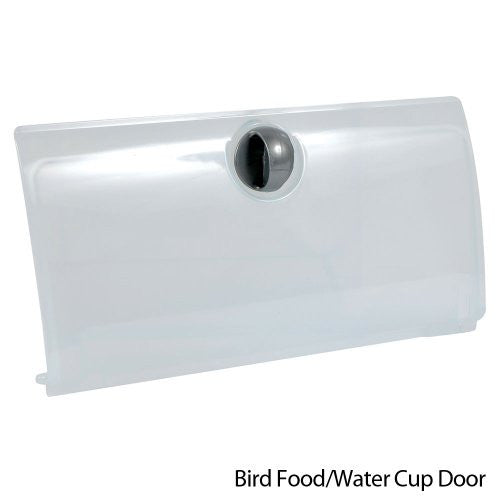 Seed/Water cup access door - fits all cage models