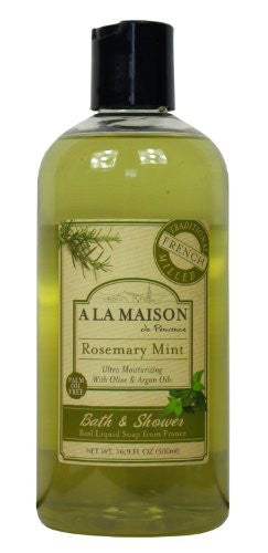 A La Maison SHOWER GEL,ROSEMARY MINT