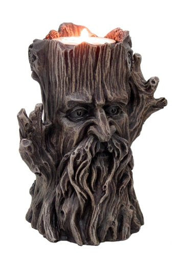 Greenman Candle Holder H: 5""