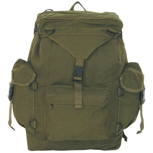 Australian Style Rucksack (Color: Olive Drab)