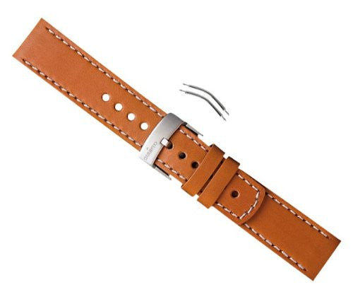 VENTUS BROWN LEATHER STRAP