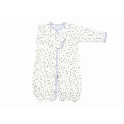 Twenty-Four Seven Convertible Baggie Baby Clothing in Blue Dots