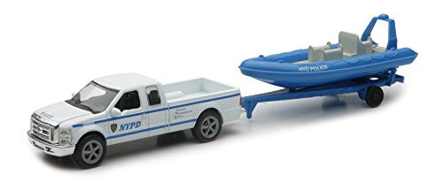 1/43 Ford F-250 with Trailer and Inflatable Boat