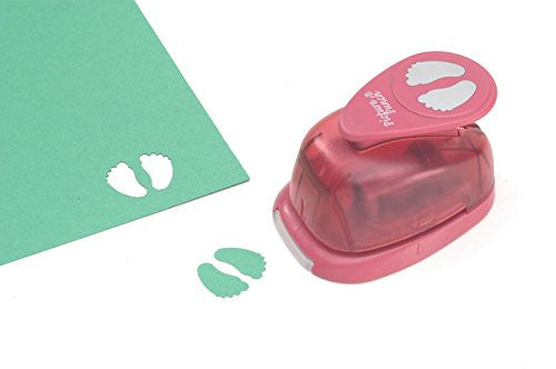 Darice Picture Punch - Baby Feet - 1 inch