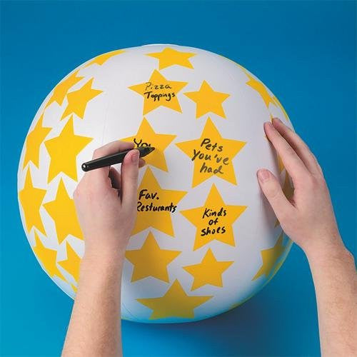 Create Your Own Toss 'n Talk-About Ball, 24-Inch
