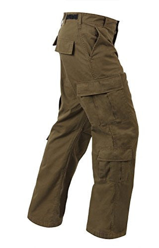Russet Brown Vintage Paratrooper Fatigues - Large