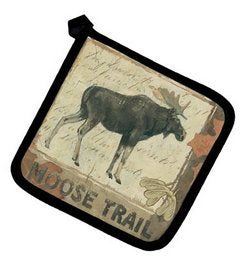 WILDERNESS TRAIL, MOOSE POTHOLDER