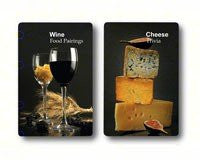 Wine and Cheese Facts Playing Cards