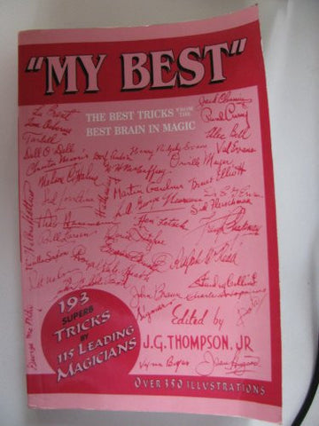 """My Best"" by J.G. Thompson, Jr."