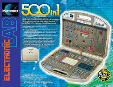 500-in-1 Electronic Project Lab