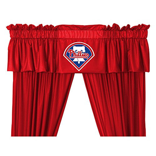 VALANCE Philadelphia Phillies - Color Bright Red - Size 88x14