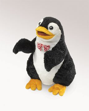 Penguin Bow Tie, Hand Puppets