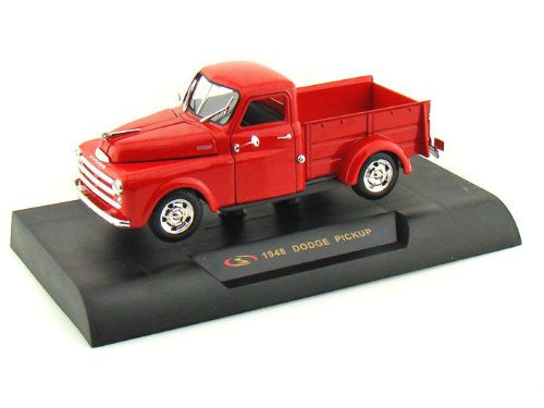 Signature Models - Dodge Pickup Truck (1948, 1/32 scale diecast model car, Red)