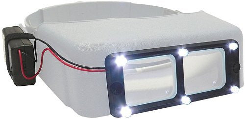 LED LIGHT ATTACHMENT FOR OPTIVISOR