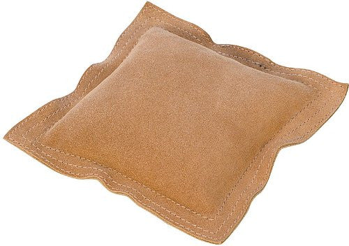 "LEATHER SANDBAG - 6"" SQUARE"