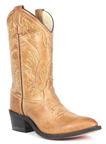 Children's & Youth's Western Boots, Tan Canyon 4 D