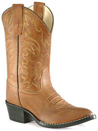 Children's & Youth's Western Boots, Tan Canyon 6 D