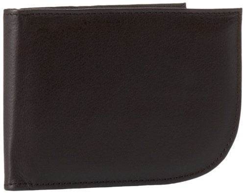 Travelon Luggage Rfid Blocking Leather Front Pocket Wallet, Brown, Small