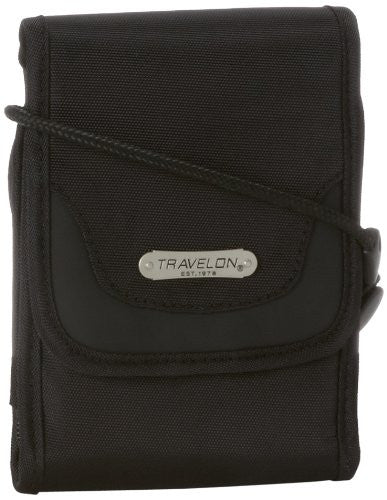 Travelon Anti-Theft Travel Wallet, Black, Small