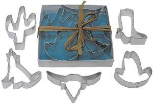 Southwest Tinplated 5pc Cookie Cutter