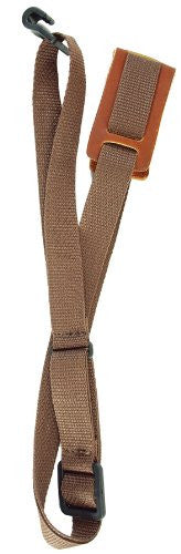 Ukulele Strap Brown w/leather pad