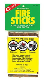 Coghlans Fire Sticks -- pkg of 12