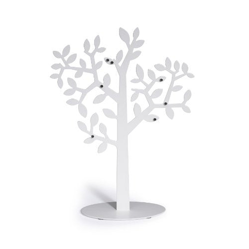 Umbra Laurel Magnetic Photo Tree Display Stand (Color: White)