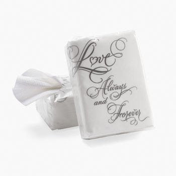 """Love"" Wedding Facial Tissue Packs (10 pks per set)"
