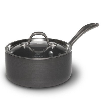 Calphalon 1.5-qt. Commercial Hard-Anodized Sauce Pan.