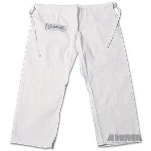 ProForce® Gladiator Judo Pants - White  (Size 4)