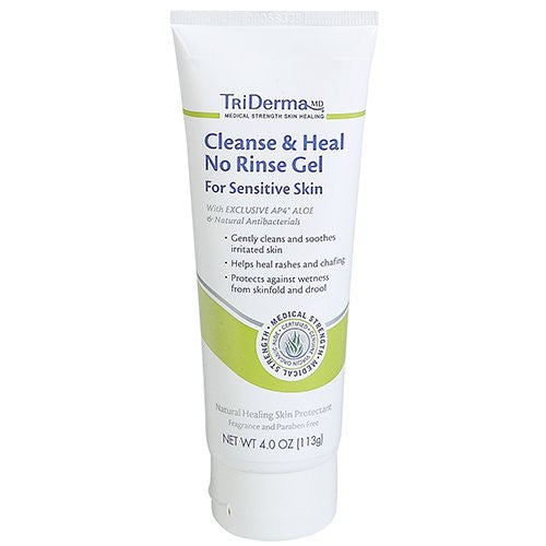 Cleanse & Heal No Rinse Gel 4 oz.