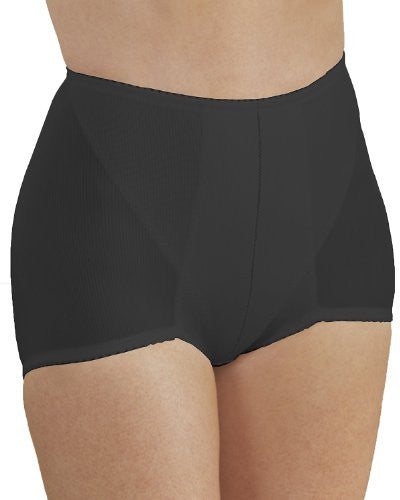 Firm Control Spandex Control Brief(Black / Large)
