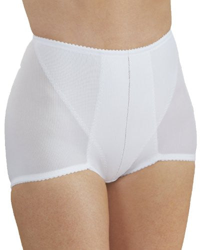 Firm Control Spandex Control Brief(White / Large)