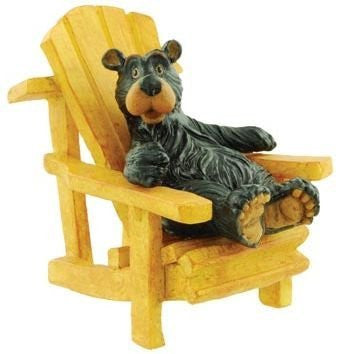 Willie Bear In Adirondack Chair