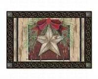 "Holiday Barn Star Mat Mate, 18"" x 30"""
