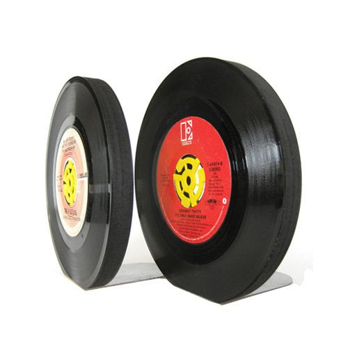 45RPM Record Bookends