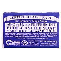 Organic Bar Soap Peppermint - 5 oz