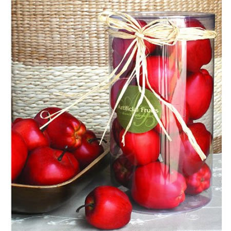 "D5.5x8.3"" Boxed Red Apples"