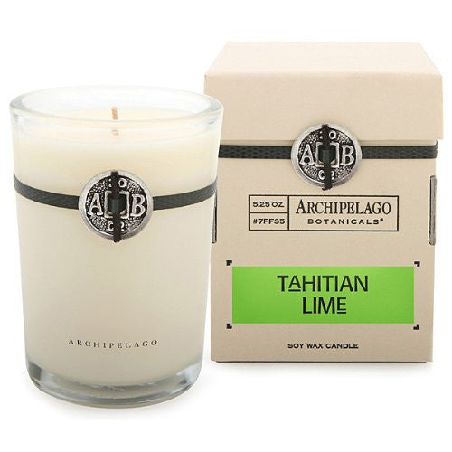 Signature Soy Wax Candle Tahitian Lime 5.25 oz
