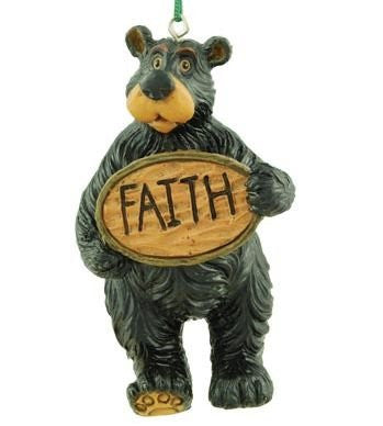 Willie Bear Inspirational Ornament