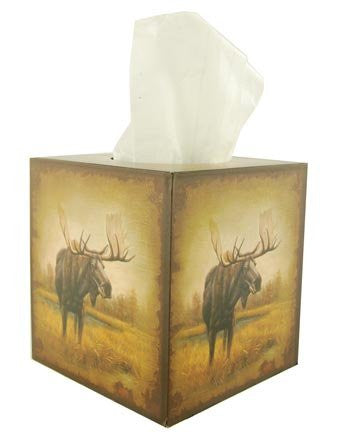 Moose Tissue Box