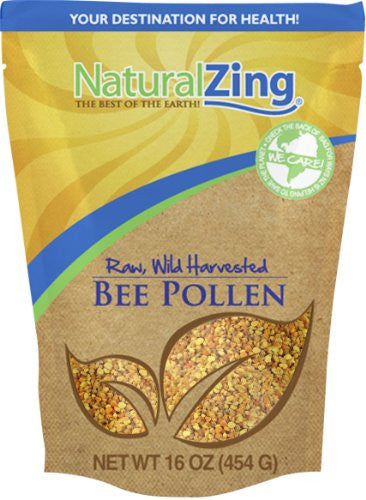 Bee Pollen (Raw, Wild Harvested) 1 lb