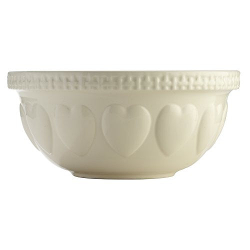 MC CREAM HRT S12 29CM MIX Bowl 11.75x5.5""